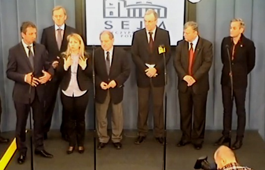 Konferencja prasowa - Ponadpartyjny apel o nieograniczanie debaty w sprawie uboju rytualnego